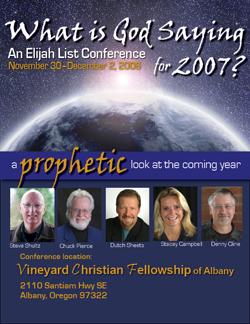 Elijah List Conference